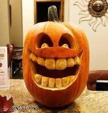 Scary Pumpkin Carving, Halloween Pumpkin Carving Stencils, Halloween Pumpkin Designs, Pumpkin Art, Scary Halloween, Halloween Pumpkins, Halloween Crafts, Happy Halloween, Scary Pumpkin Faces