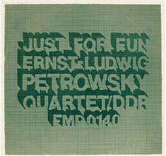 Ernst-Ludwig Petrowsky Quartet* - Just For Fun (Vinyl, LP, Album) at Discogs