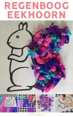 This squirrel craft is fun for toddlers and preschoolers to make in the fall. Good for fine motor skills to. Fun Activities For Kids, Creative Activities, Toddler Preschool, Toddler Crafts, Fun Arts And Crafts, Diy And Crafts, Toddlers And Preschoolers, Diy For Kids, Crafts For Kids