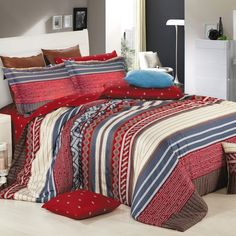 Algonquin 4-piece Duvet Cover Set