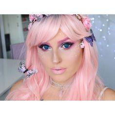 New pretty pink Halloween tutorial! http://youtu.be/21qYLiEOIz0 #shaaanxo