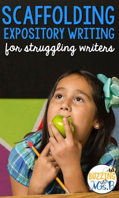 Buzzing with Ms. B: Scaffolding expository writing for struggling writers. This strategy supports overwhelmed kids in approaching the STAAR Writing test, too, by making it manageable. Writing Lesson Plans, Writing Test, 3rd Grade Writing, Expository Writing, Informational Writing, Writing Lessons, Writing Workshop, Teaching Writing, Writing Skills