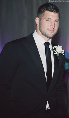Heck Yes, Tim Tebow!, Tim @ a friend's wedding