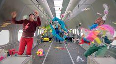 OK Go's Impressive New Music Video Shot in Zero Gravity