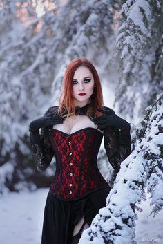 Lady of Winter [2] - Model: Revena More photos: www.facebook.com/wikingart
