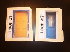 Primarily Singing: Door #1 or Door #2 As a Child of God choose game