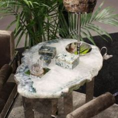 Anna Rablabs gemstone cofee table - Home Decorating Trends - Homedit