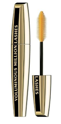 Six Items to Swap in Your Makeup Bag: Expensive mascara.  Considering that mascara is only good for three months tops, splurging on high-end mascara is not ideal. Try some drugstore brands, and you may be surprised at how well they work.     L'Oreal Voluminous Million Lashes, Ulta.com, $8.99.