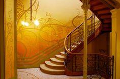"""Belgica 05 Casas principales del arquitecto Víctor Horta (Bruselas)""""Art Nouveau"""", la Casa Tassel, la Casa Solvay, la Casa Van Eetvelde y la vivienda-estudio del propio arquitecto forman parte de las obras arquitectónicas más innovadoras de fines del siglo XIX"""