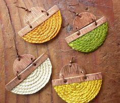 Aros  de cobre y teatina | Ikuna