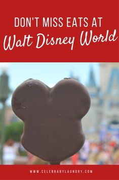 I have compiled a list of 8 don't miss eats at the Magic Kingdom in Disney World for kids, the kids at heart, and even foodies with a distaste for a quick grab and go snacks. Disney Dining Tips, Disney On A Budget, Disney Vacation Planning, Walt Disney World Vacations, Disney Tips, Disney Food, Disney Disney, Vacation Ideas, Disney World Magic Kingdom