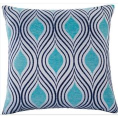 Better Homes and Gardens 18 inch X 18 inch Moroccan Decorative Pillow, Blue Yellow Wall Decor, Yellow Walls, Seafoam Color, Neutral Colour Palette, Color Tones, How To Make Pillows, Better Homes And Gardens, Home Decor Styles, Stripes Design
