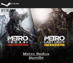 Metro Redux Bundle (STEAM GIFT) DIGITAL 10,33€