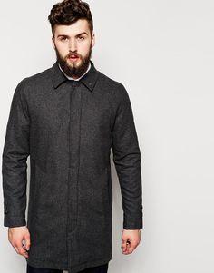 Pardessus en laine d'ASOS, 142,86€. Sélection des vestes pour affronter l'automne avec style - TheChemistry