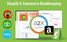 Shopify Bookkeeping: How A2X Will Help You Simplify Your Shopify Business Bridge App, Bookkeeping Services, Tax Rate, E Commerce Business, Ecommerce, Finance, E Commerce, Economics