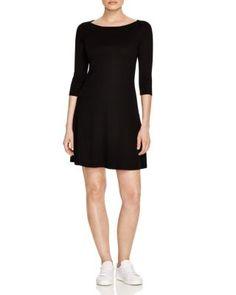 THREE DOTS Trista Boat Neck Dress. #threedots #cloth #dress