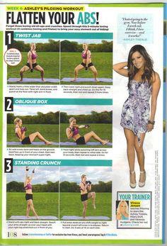 Flatten Your Abs (week 4) - Seventeen Magazine