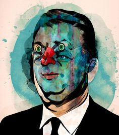 Businessman by Alvaro Tapia Hidalgo--this reminds me to use color