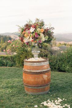 Elegant Thomas Fogarty Winery wedding: http://www.stylemepretty.com/little-black-book-blog/2014/06/11/elegant-thomas-fogarty-winery-wedding/ | Photography: http://www.carliestatsky.com/