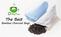 *****BESTSELLING BAMBOO CHARCOAL AIR PURIFIERS ON AMAZON***** OMyTea® 100% Organic Natural Air Purifying Bamboo  Charcoal Deodorizer Bag - Most Effective Odor Remove - Portable Air Freshener for Fridge, Freezers, Closet, Car & Shoes (4 colors For Shoes)