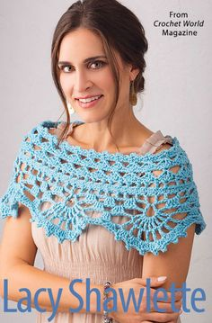 When you think crochet, you simply must think the April 2018 issue of Crochet World magazine! Crochet Gifts, Crochet Doilies, Crochet Lace, Crochet Shawl Diagram, Crochet Capas, Crochet Tank Tops, Crochet World, Crochet Accessories, Crochet Clothes