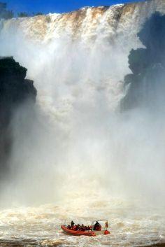 Cataratas del Iguazú ARGENTINA.  Garganta del Diablo.