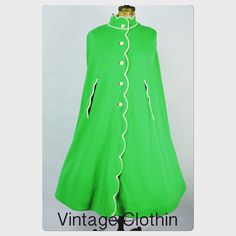 #Sold 1960s Gino Paoli Cape kelly green cape on the way to its new owner in VA!  Thank you for your purchase, we appreciate the business enjoy this fabulous coat.    www.vintageclothin.com  #vintage #vintageshop #vintageclothin #vintagecape #coat #green, #white #vintagestore #vintageseller #1960 #1960scape #1960scapelet #cape #capelet #GinoPaoli #Wool #Woolcape #vintageclothin #vintagecape #60scape #1960s #60s #60scape #Soldout