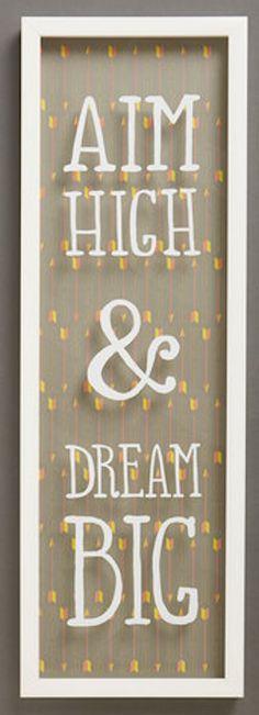 Aim High!