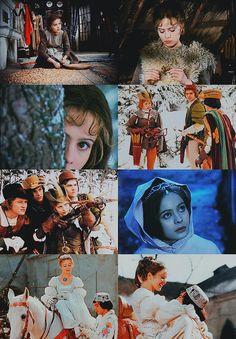 a list of favorite fairytale adaptations:Tři oříšky pro Popelku (Three Wishes for Cinderella), Czechoslovakia/East Germany, 1973 Cinema Movies, All Movies, Film Movie, Fairytale Cottage, Fairytale Art, Dream Pictures, Grimm, Kino Film, Fairytale Fantasies