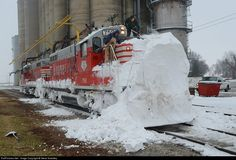 RailPictures.Net Photo: BLOL 7591 Bloomer Line EMD GP9 at Cropsey, Illinois by Steve Smedley