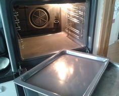 Oven schoonmaken met behulp van groene zeep en ammoniak