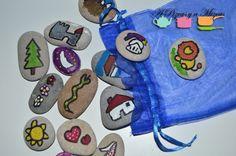 Un puñado de piedras se puede convertir en el cuenta cuentos más maravilloso del mundo