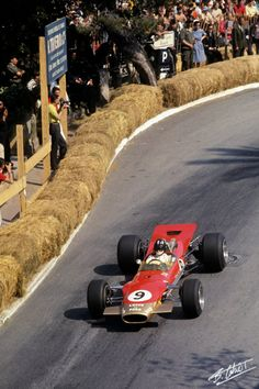 1968 GP Monaco (Graham Hill) Lotus 49B - Ford