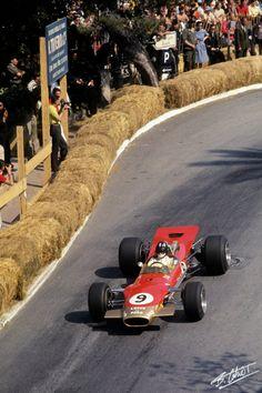Graham Hill su Lotus 49B GP Monaco 1968