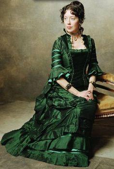 Deadwood - Alma Garret. The money dress.