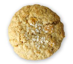 Sprinkles salted oatmeal cornflake cookie is a cult favorite!  Toasted rolled oats mixed with cornflakes provide a hearty crunch.  Topped with a sprinkling of fleur de sel, the sweet-salty balance is just right!