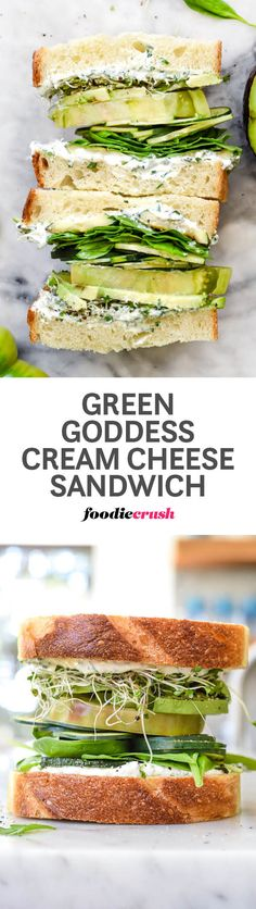 Garlic and herb-infused cream cheese flavor a bounty of green veggies to make a…