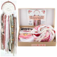 Your place to buy and sell all things handmade Craft Kits, Diy Kits, Craft Projects, Craft Ideas, Diy Birthday, Birthday Gifts, Diy Dream Catcher, Rustic Wedding Backdrops, Boho Nursery