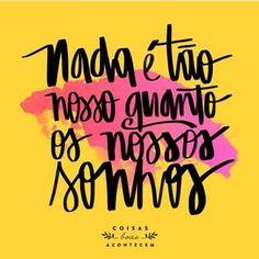 Bom dia! #sonhos #bomdia #acreditarsempre #amor #esperança #paz #luta #sonhar #coisasboasacontecem #picoftheday #photooftheday