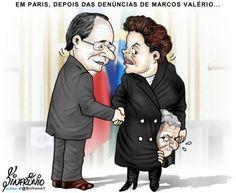 Lula diz que é tudo mentira de Marcos Valério