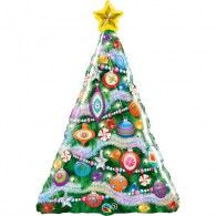 Christmas Tree Foil Balloon $22.95 (Inflated) Q39067