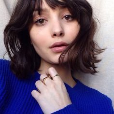 17 Stylish Short Hairstyles with Bangs in Short haircuts with bangs A short haircut will never go out of style. It does not require long and complex care and perfectly rejuvenates the face. Short Brown Hair, Very Short Hair, Short Hair Cuts, Short Hair Styles, Pixie Cuts, Short Haircuts With Bangs, Short Hairstyles For Women, Hairstyles With Bangs, Short Bangs