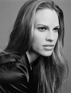 Hilary Swank...my absolute favorite!  Loved her in Karate Kid, Freedom Writers, and P.S. I love you!  <3