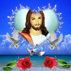 ÚNETE SI TE GUSTA AMAR: AVECES NO ME DOY DE CUENTA DE TODO DE LO QUE MAS DAS !!..GRACIAS SEÑOR..!! Pictures Of Christ, Jesus Christ Images, Jesus Mother, My Jesus, Real Image Of Jesus, Wallpaper Display, White Jesus, Jesus Photo, Good Prayers