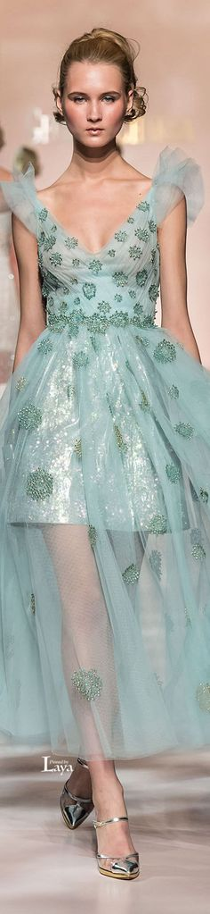 GEORGES CHAKRA Spring-Summer 2015 COUTURE.           G