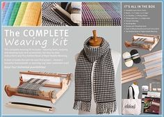 Save big on this years Ashford complete weaving kits, just in time for our weaving retreat! Special price through October Full details in product link. Weaving Tools, Weaving Projects, Loom Weaving, Hand Weaving, Pick Up Sticks, Needle Felting Kits, Fiber, Handmade, Stuff To Buy