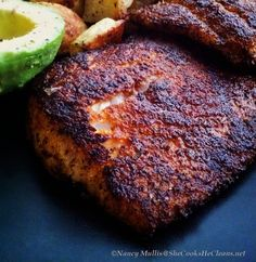 The secrets to a really tasty piece of blackened fish!