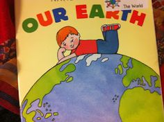 """Before starting the unit on landforms, I want to read all the students this book called """"Our Earth"""" by Anne Rockwell. By reading this book, I feel that the students will be able to understand the unit as we go alone and also this will give them some images of landforms to think of as we move through the unit. The students will be better able to visualize the pictures."""