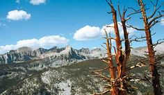 High Sierra Trail- 72 miles, ends at Whitney, through Kern Valley