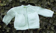 Long Sleeved Girl's Toddler Sweater | AllFreeKnitting.com